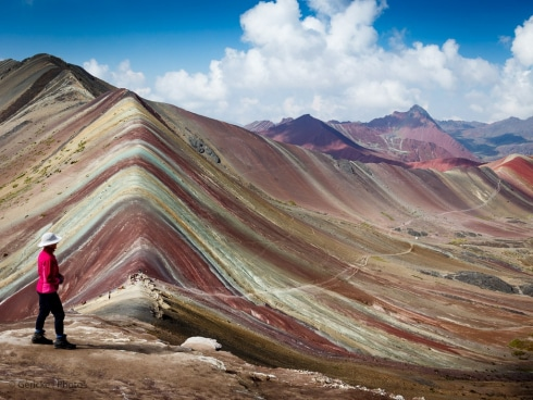 Coloured mountain, Peru