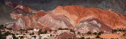 Mountain of seven colours, Purmarca, Argentina