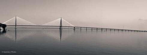 Bridge over Rio Parana, Paraguay