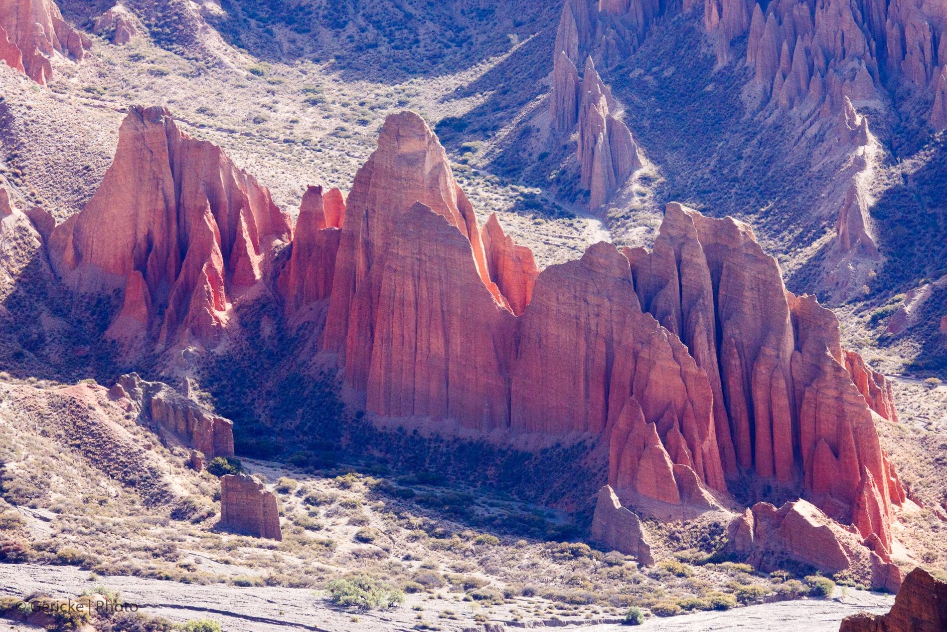 Coloured peaks, Bolivia