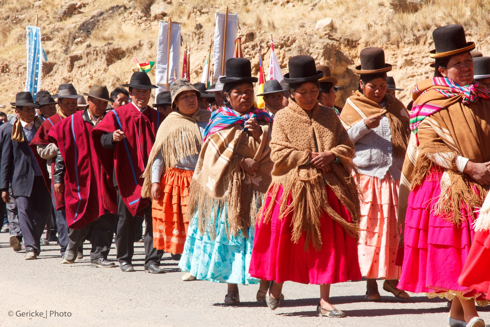 Procession, Bolivia