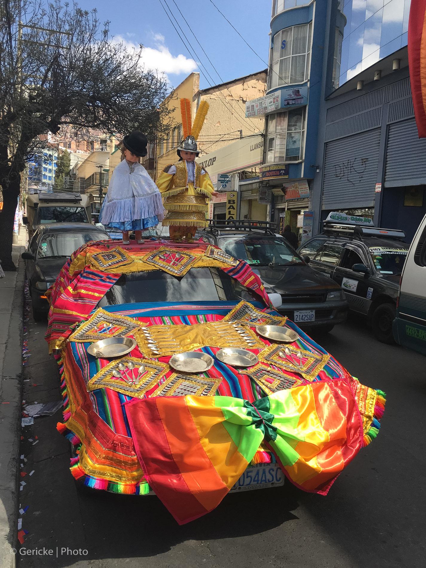 Traditional Wedding vehicle, Bolivia