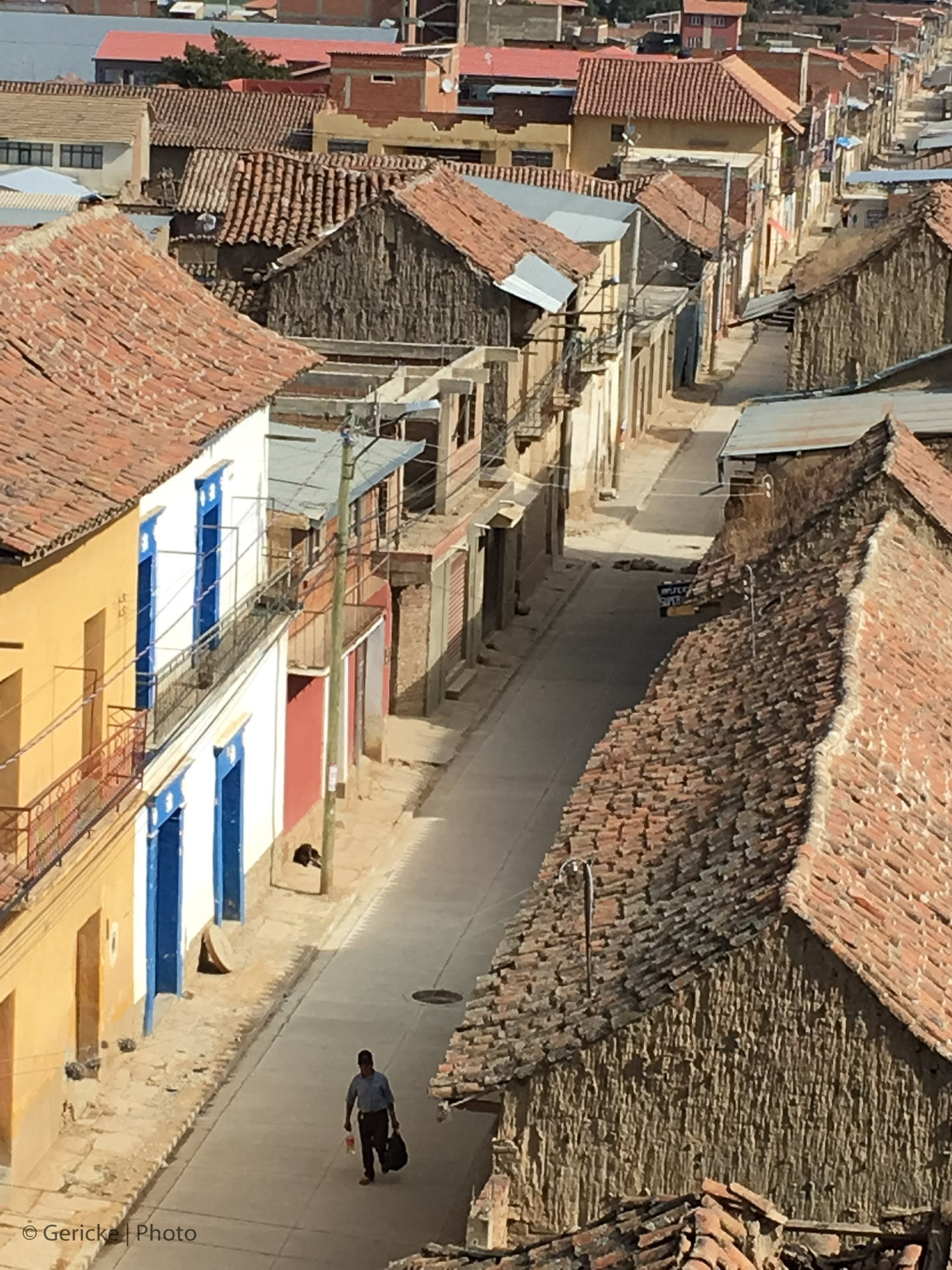 Typical Village in Rural Bolivia