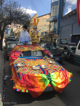 Traditional Wedding vehicle, Bolivia