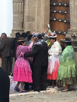Traditional Wedding, Bolivia