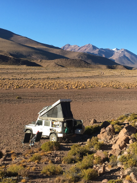 Wild camp, Altiplano, Bolivia