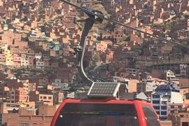 Cable car, La Paz, Bilivia