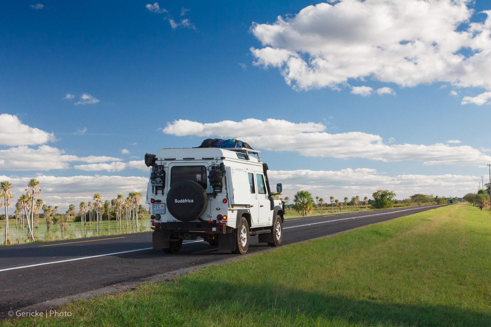 Road to Pilar, Paraguay