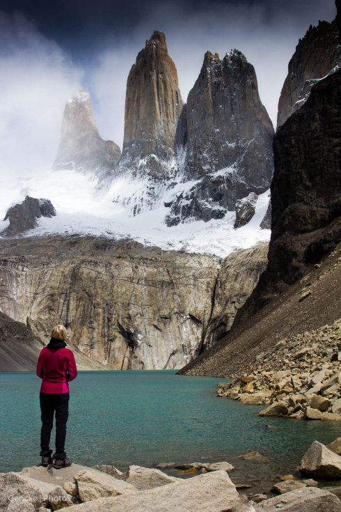 World famous Torres del Paine, Chile