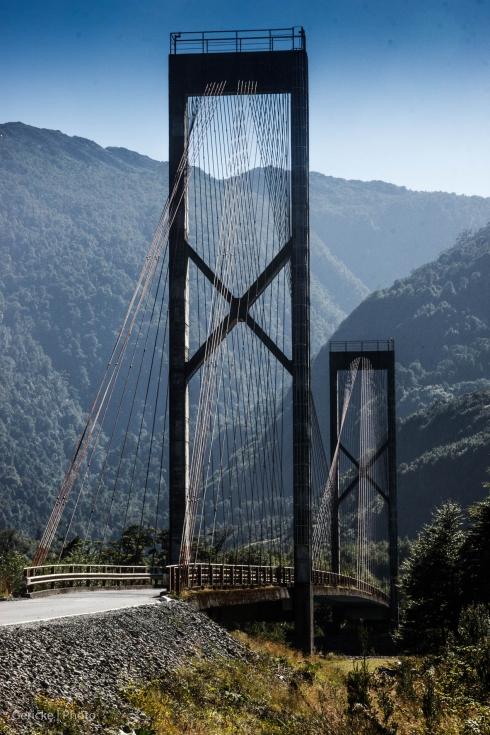 Bridge at Lago Yalcho, Chile