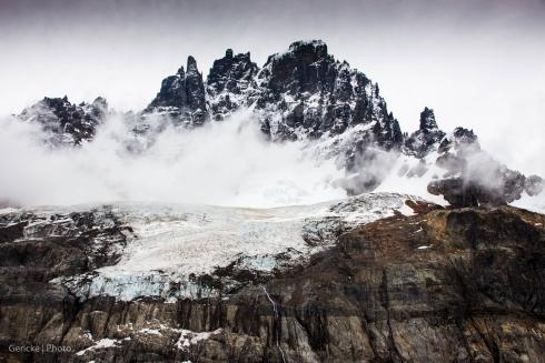 Cerro Castillo close up, Chile