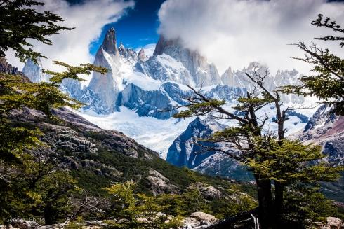 Fitzroy from a distance, El Chalten, Argentina