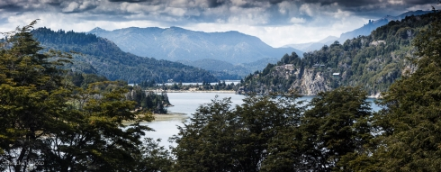 Lago Nahuel Huapi, , 7-lakes region, Argentina