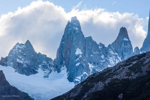 Peaks left of Fitzroy, Argentina